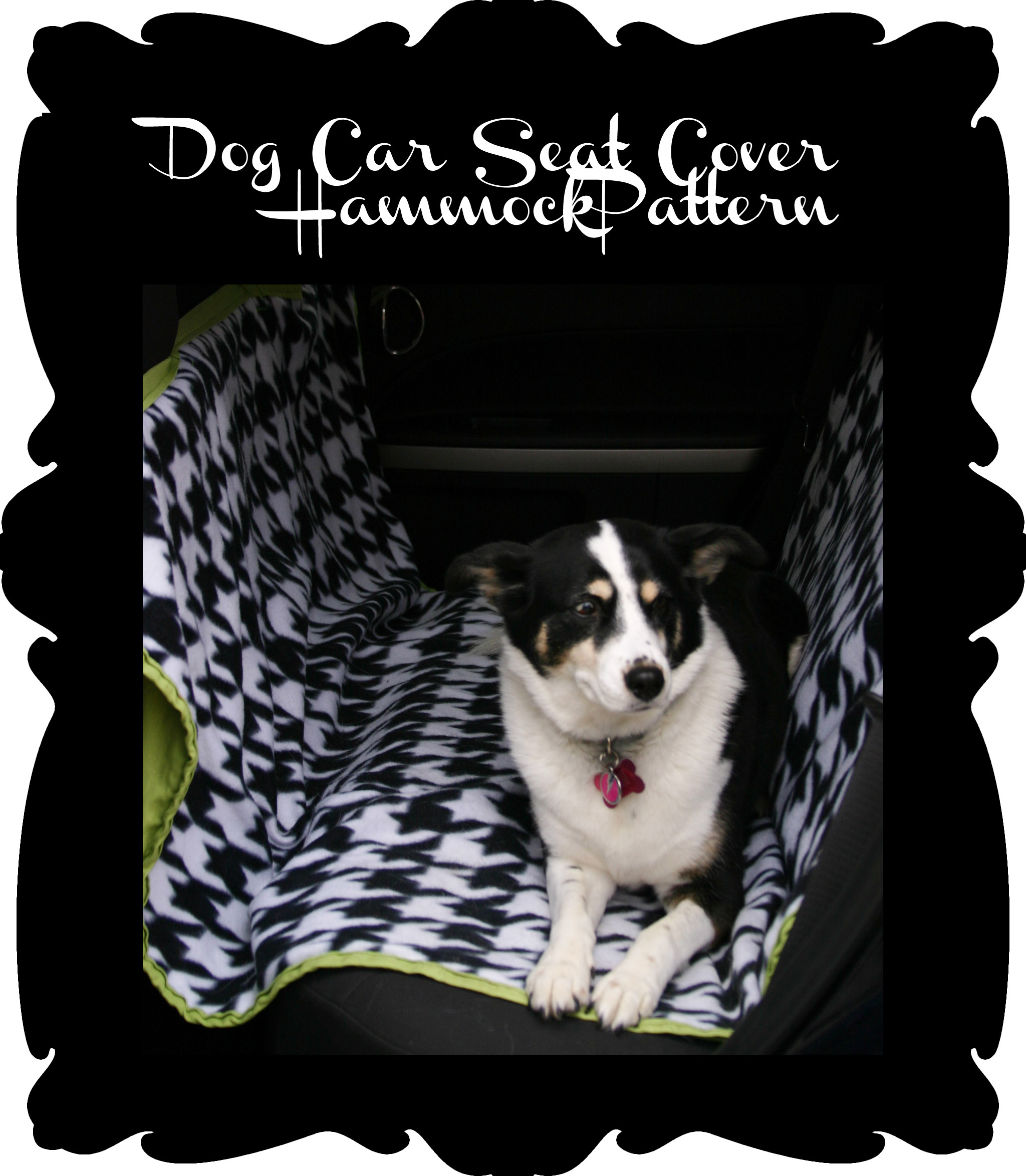 Dog Car Seat Cover Graphic