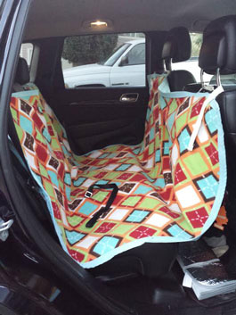 Sewing Pattern Car Seat Hammock For Dogs