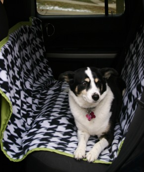 Sewing Pattern: Car Seat Hammock for Dogs