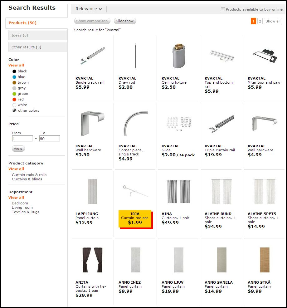 ikea website kvartal