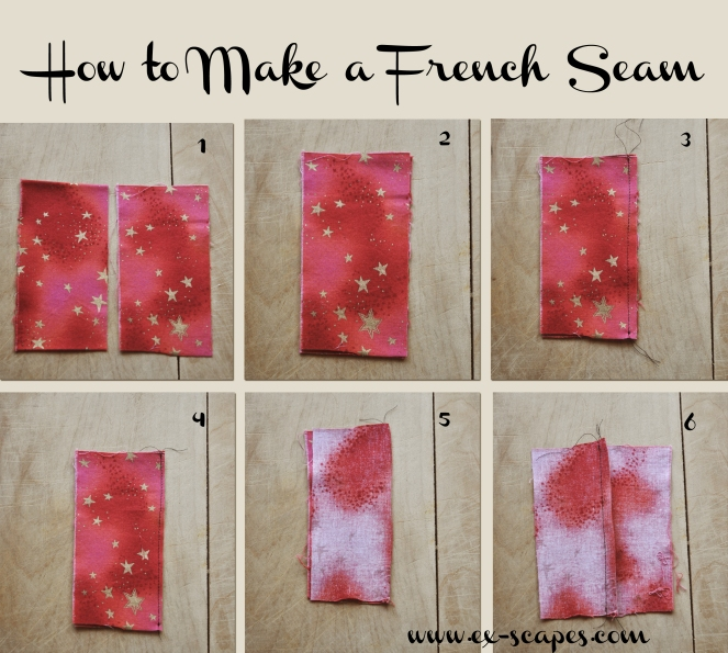 How to Sew a French Seam