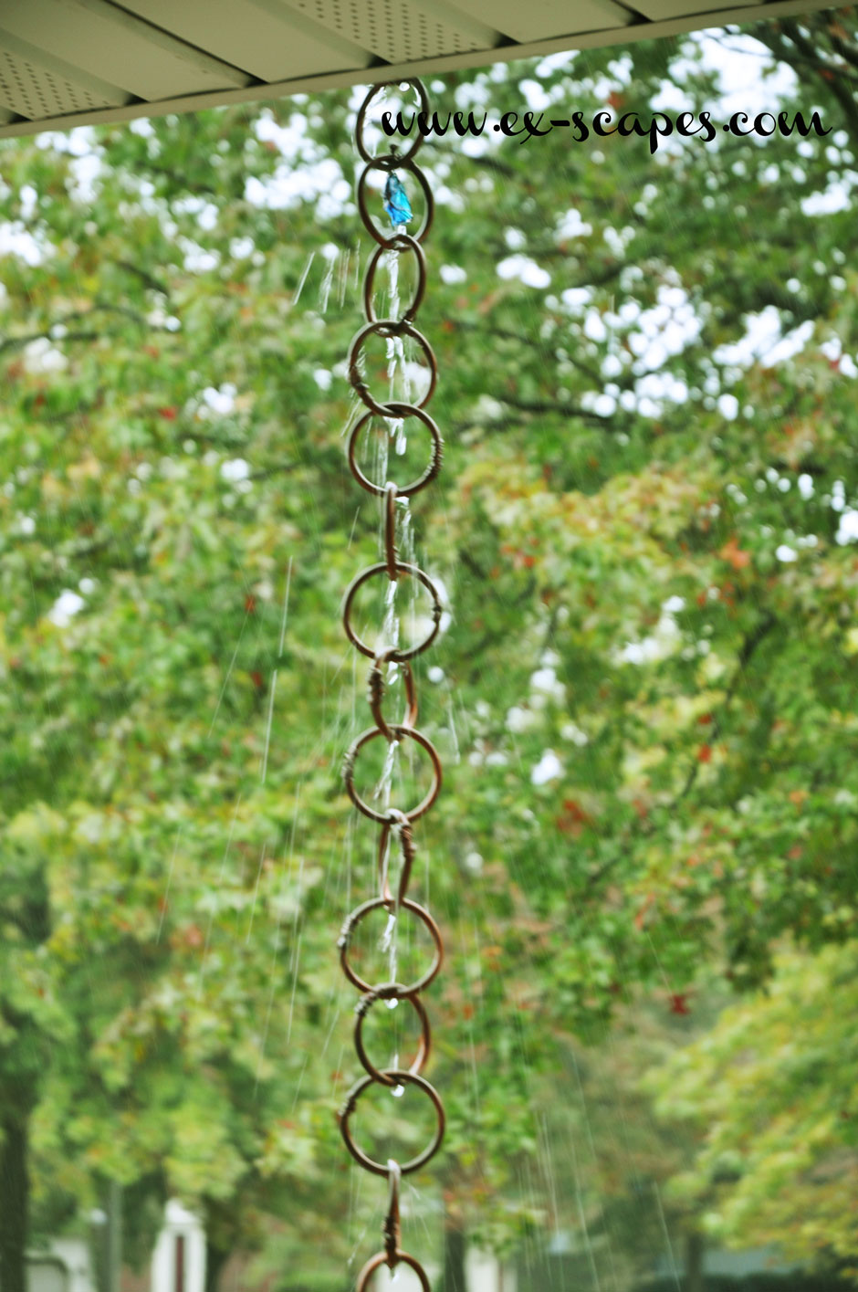DIY Copper Rain Chain